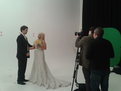 TV Advert in the making