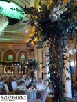 Table Centres, Kings Hall, George Hotel