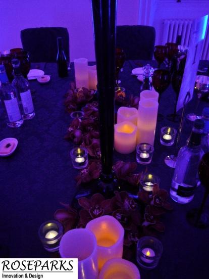 Black Candlestands