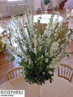 Delphinium-and-Blosson-tablecentres