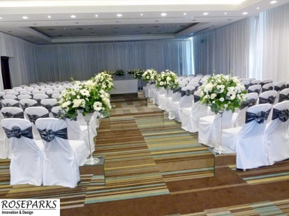Roseparks - Ceremony/Reception Flowers