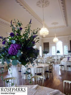 Roseparks - Table Centres - Hopetoun House