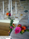 Roseparks - Glass Candlestand Table Centres