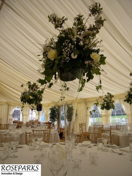 Roseparks-Table Centres-Glencorse House