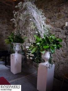 Roseparks-Ceremony Arch-Glencorse Kirk
