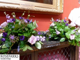 Roseparks - Table Centres at RCPE (Cermony)