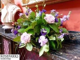 Roseparks - Table Centres at RCPE (Ceremony)