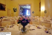 Oxenfoord Castle - Reception Flowers