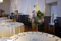 Glass candlestands - Queen Anne